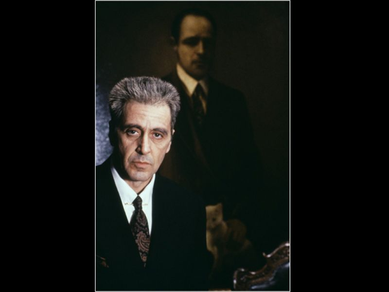 al pacino wallpaper. Al Pacino As Michael Corleone