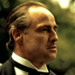 Marlon Brando As Vito Corleone Side Portrait Wallpaper
