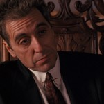 Michael Corleone Sitting Close Up Wallpaper