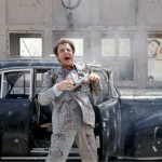 Sonny Corleone Outside Car Wallpaper